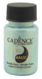301245/0006-Cadence Twin Magic metallic verf groenblauw-50 ml
