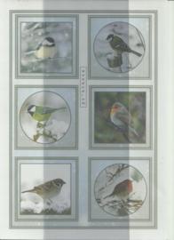 BOWOC 100-0042-KN vogels metalic knipvel