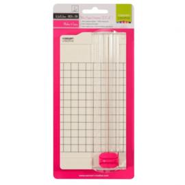 """2137-049- Vaessen Mini Papiersnijder-6,5x15,3 cm- 2,5x6"""""""