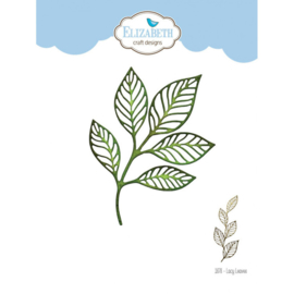 1878-Elizabeth Craft Designs- Lacy Leaves