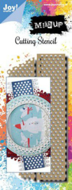 6002/1564-Joy! Crafts Stansmal-Mixed Up - Tape-139x61,5mm