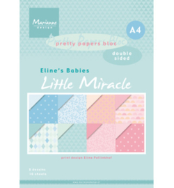 PB7058 - Marianne Design Elines babies little miracles A4