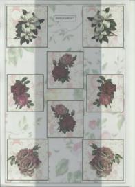 BOWOC 100-0007-KN bloemen metalic knipvel