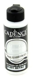 301200/0001 - Cadence Hybride acrylverf (semi mat) Wit