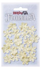 3866002-FLORELLA-Blüten creme, 2cm