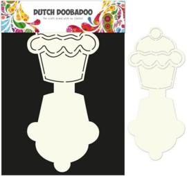 470.713.503-Dutch Doobadoo Dutch Card Art Stencil Cupcake A4 2x 13,5x12cm