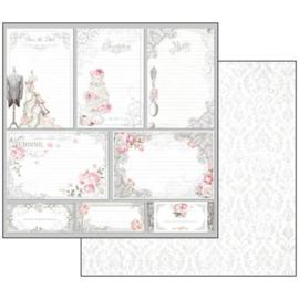 SBBL18-Stamperia Wedding 12x12 Inch Paper Pack