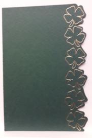 ROPP 100-6602-lpp Donker groen pp met goud opdruk