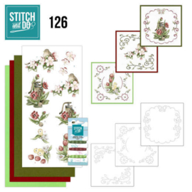 STDO126-Stitch and Do 126- Spring Delight