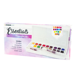 WCSL01-Studio Light-Essentials Watercolor Set
