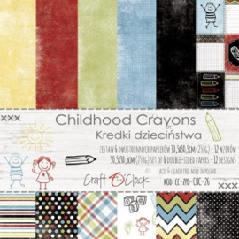 CC-ZPD-CHC-26 - Craft O'Clock Childhood Crayons