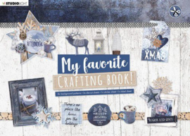 STANSBLOKSL95 -Studio Light Crafting Book MF Snowy Afternoon Elements nr.95-