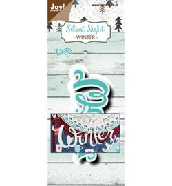 6002/1495 - Joy crafts -Silent Night - Winter