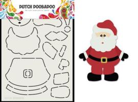 470.713.830-Dutch Doobadoo Card Art Built up Kerstman A5