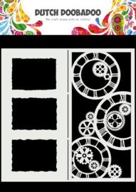 470.784.005-Dutch Doobadoo Dutch Mask Art-Slimline uurwerken-210x210mm