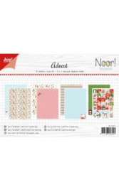 6011/0673-Papierset - Noor - Design Advent