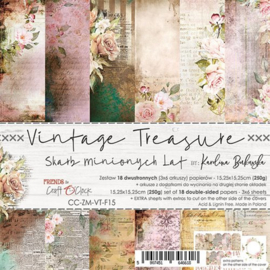 CC-ZM-VT-F15-Paper Collection Set  15,25x15,25 Vintage Treasure