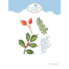 1877- Elizabeth Craft Designs- Winter Greens