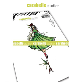 SA60512-Carabelle Studio • Cling stamp A6 La fée Fregaria by Soizic