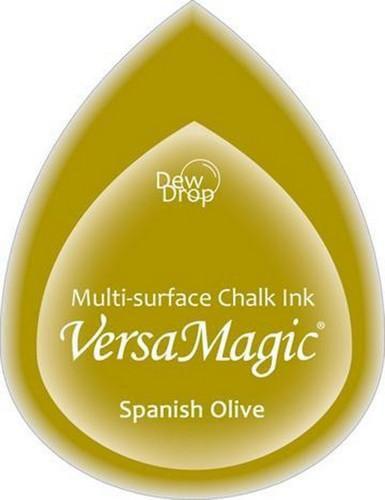 GD-000-059-Spanish Olive-Versa Magic inktkussen Dew Drop