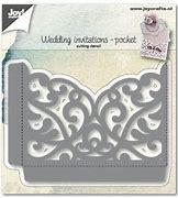 6002/1270 - Joy Crafts Wedding invitations-pocket