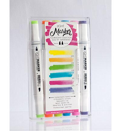 Marker02-Studio Light-Waterbased Dual Tip Markers