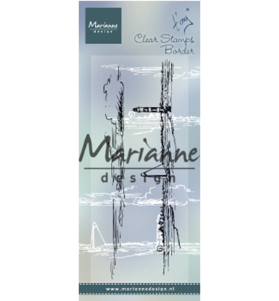 TC0874-Marianne Design-Tiny's border – Horizon-Clear Stempel