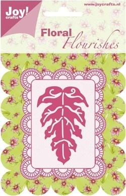 6003/0007-Floral Flourishes- Klein blad-Joy! Crafts