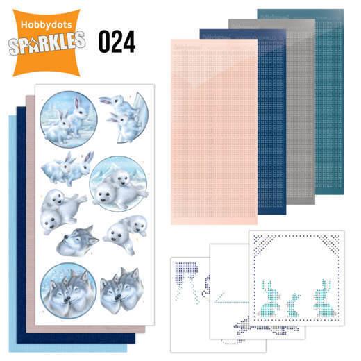 SPDO024-Sparkles set 24-Winter Friends