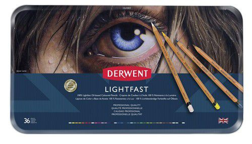 Derwent Lightfast 36 st blik DLI2302721