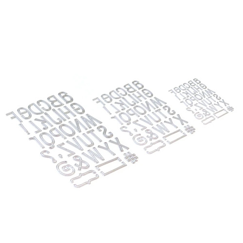 1741 - Planner Essentials 23 Retro Alphabet trio