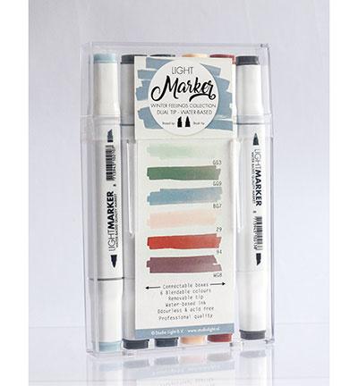 Marker07-Studio Light-Waterbased Dual Tip Markers