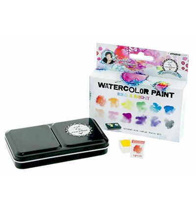 WCBM01-Studio Light Watercolor Paint-Bold & Bright