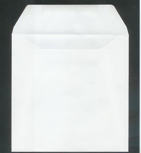 11-9002-7     10 st. Enveloppen 14X14 cm