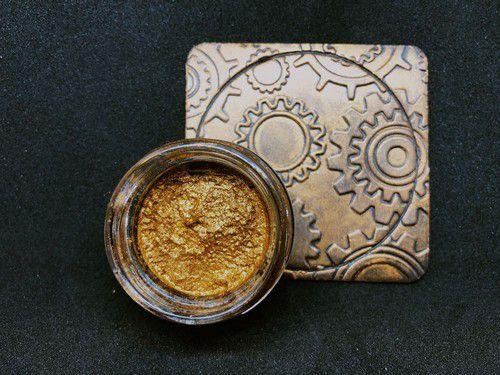 COC-079-Jewel Golden Amber-COOSA Crafts Gilding Wax-20 ML