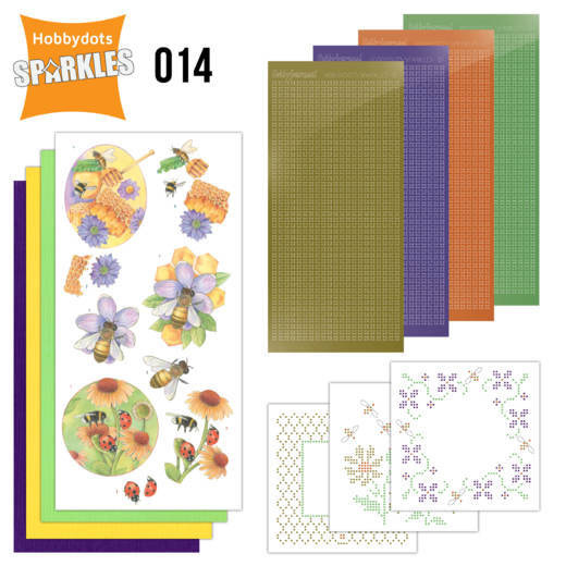 SPD0014-Sparkles set 14-Buzzing Bees