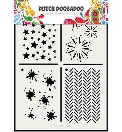 470.715.131 Dutch Doobadoo - Mask Art Multi stencil 2