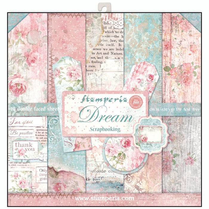 SBBL27-Stamperia Dream 12x12 Inch Paper Pack