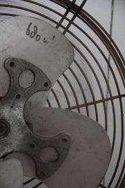Oude industriële ventilator