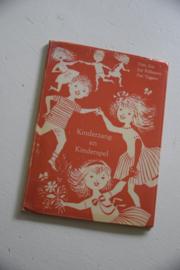 Boekje kinderzang en kinderspel