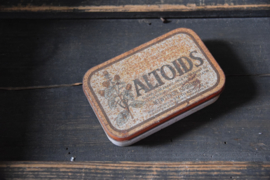 Vintage pepermunt blikje