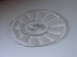 Sierlijk glazen schaaltje