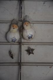 Setje kerstmannetjes