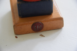 Vintage houten stapeltoren SIO