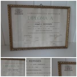 Oud diploma