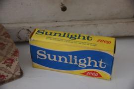 Oude Sunlight zeep verpakkingen