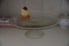 Brocante taartplateau