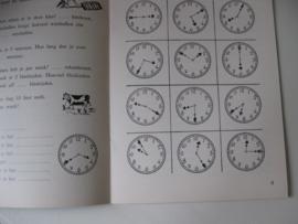Nostalgisch schoolboekje