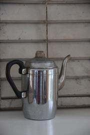 Oude koffiepot