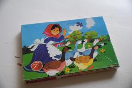 Vintage ganzenbord spel Papita